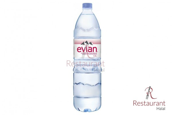 Pack 12 Evian 1,5L
