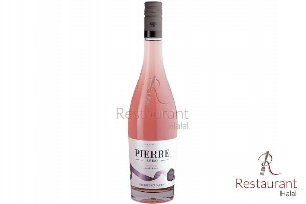 Champagne rosé sans alcool