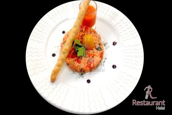 Tartare de Saumon Mi-cuit