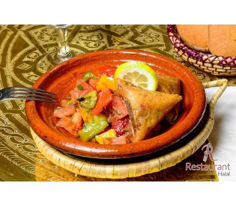 Brouate ou Samoussa de boeuf à la marocaine