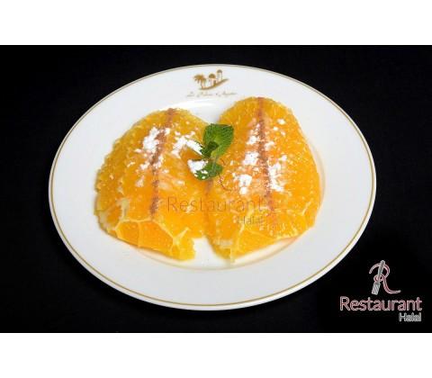 Salade d'oranges canelle à l'oriental