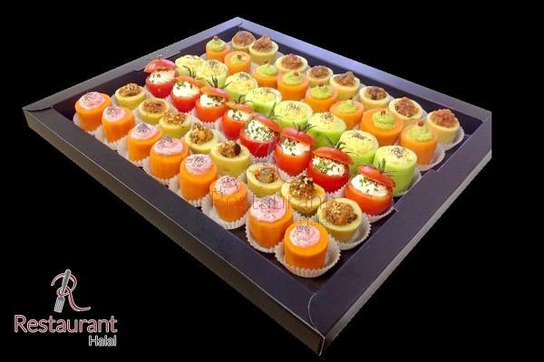 Selection Canapés végétariens