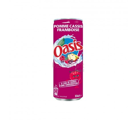 Oasis Pomme Cassis Framboise 33 cL