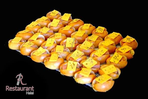 Mini Hot Dog Volaille