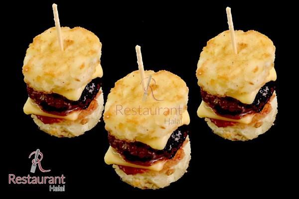 Crousty-Soft Burger Cheddar