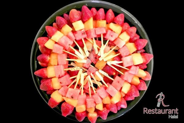 Fruits Frais en Brochettes Rainbow